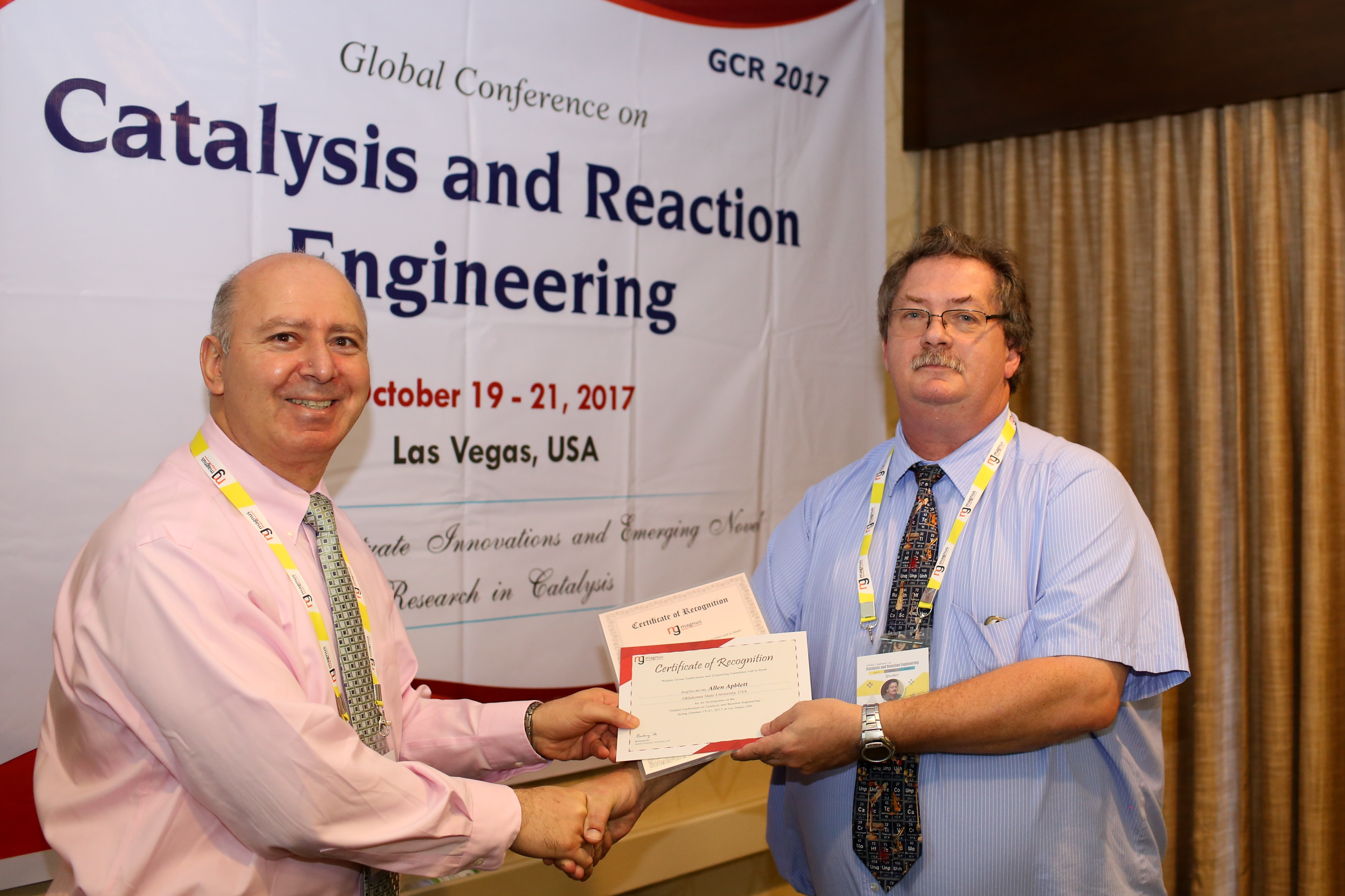 Catalysis Conference 2017, Las Vegas, USA
