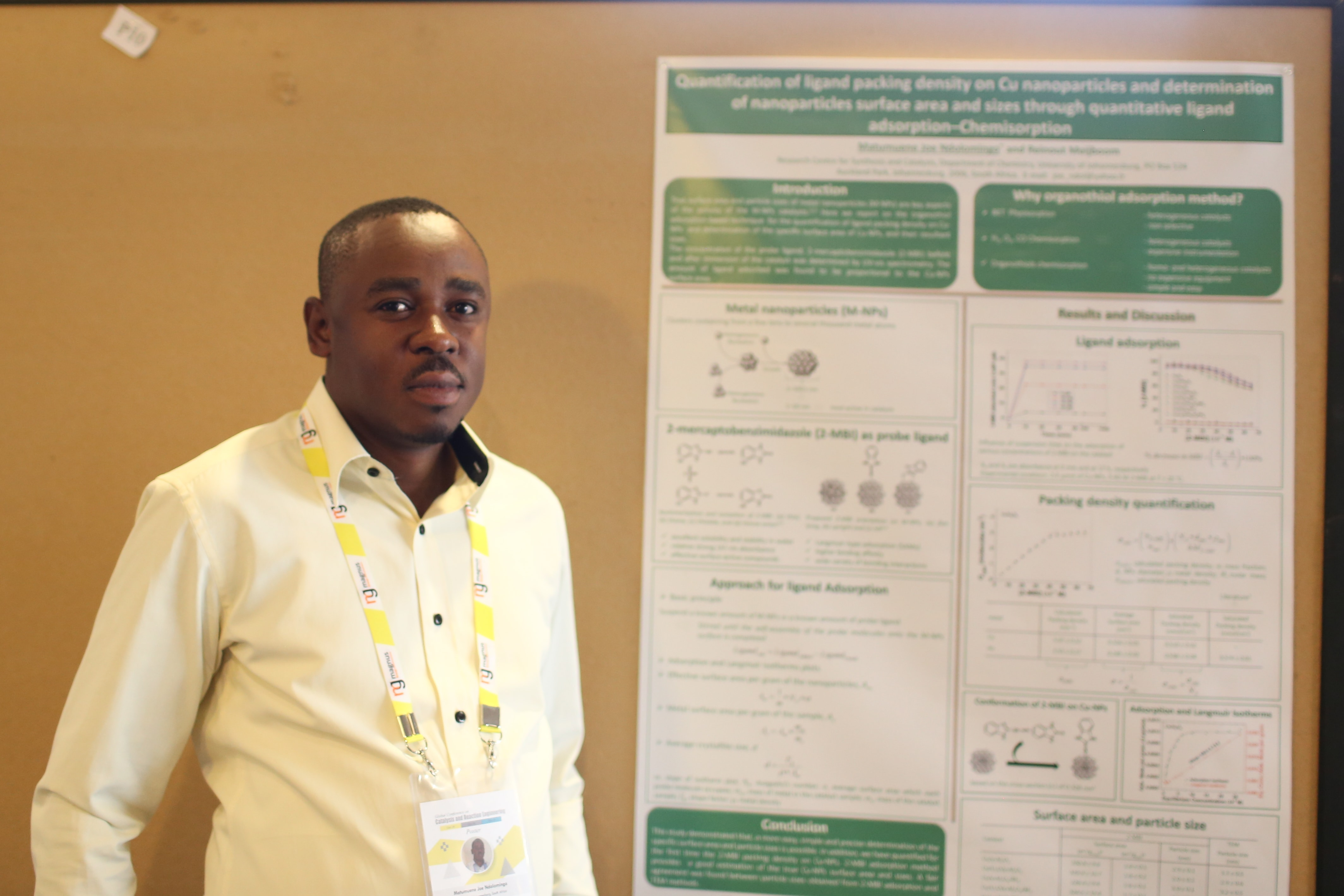 Matumuene Joe Ndolomingo, University of Johannesburg, South Africa