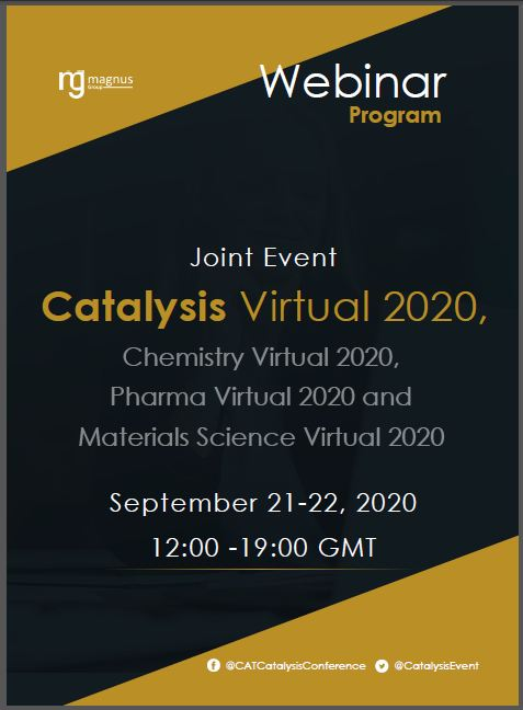 Second Edition of Global Webinar on Catalysis, Chemical Engineering and Technology Program